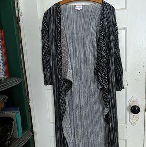 Lularoe Shirley Kimono ribbed Medium